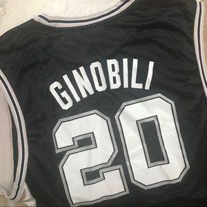 pretty nice 0ca91 ba4d7 San Antonio Spurs Manu Ginobili Jersey